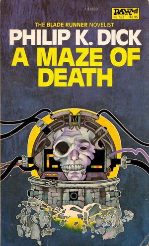 Bob-pepper_a-maze-of-death_scarborough-new-american-library-of-canada-1983_ue1830