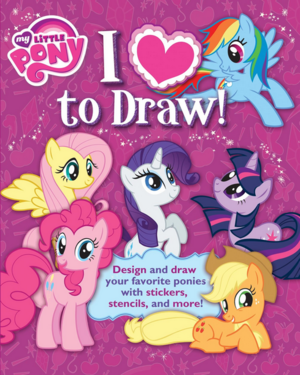My_little_pony_i_love_to_draw!_book_cover